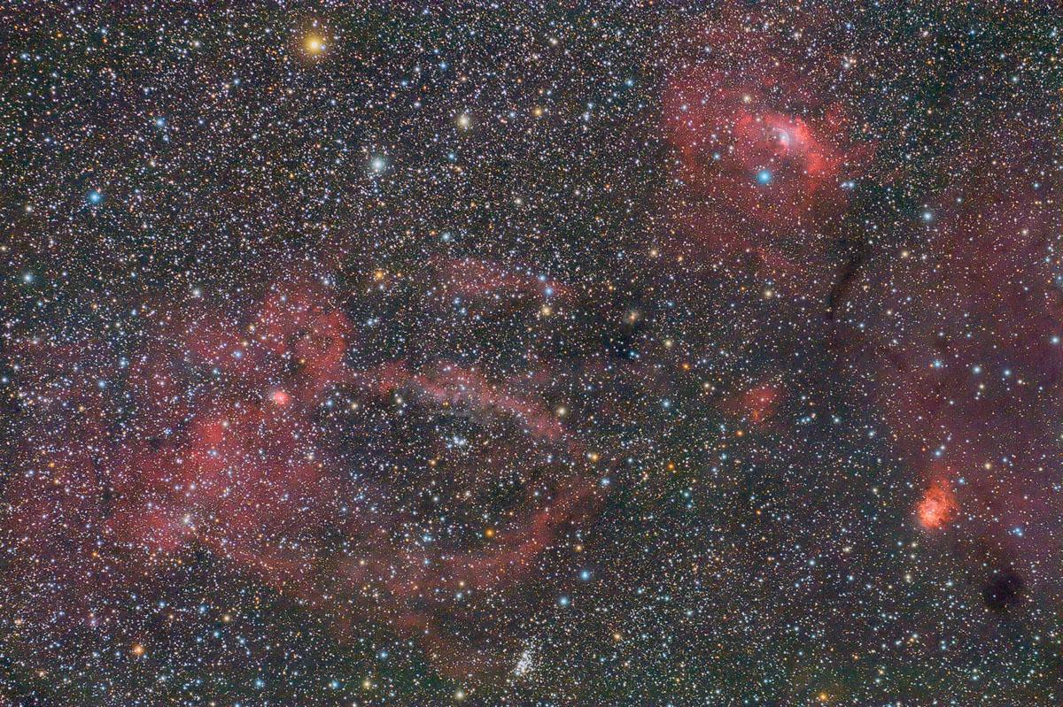 NGC 7635 - Bubble Nebula by ZeSly