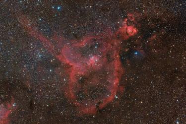 IC 1805 - Heart Nebula