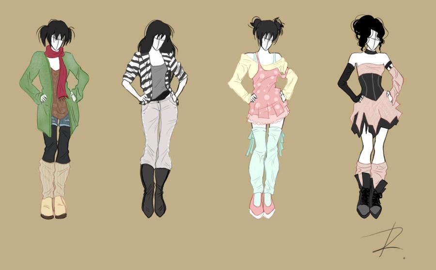 Fashion design set 1 by rinmaru on deviantart for Fashion designer craft sets