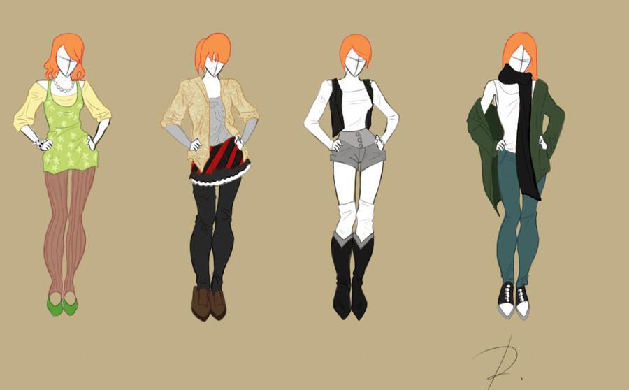 Fashion design set 2 by rinmaru on deviantart for Fashion designer craft sets