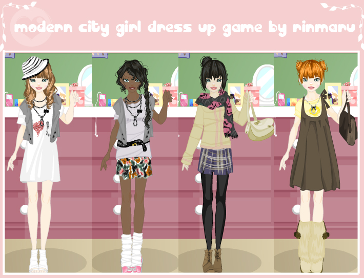 Modern city girl dress up game by Rinmaru on DeviantArt