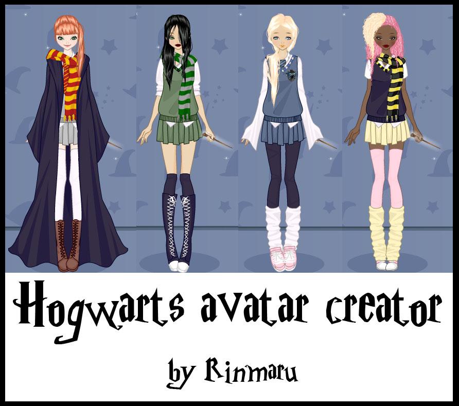 Character Design Dress Up Game : Hogwarts dress up game by rinmaru on deviantart