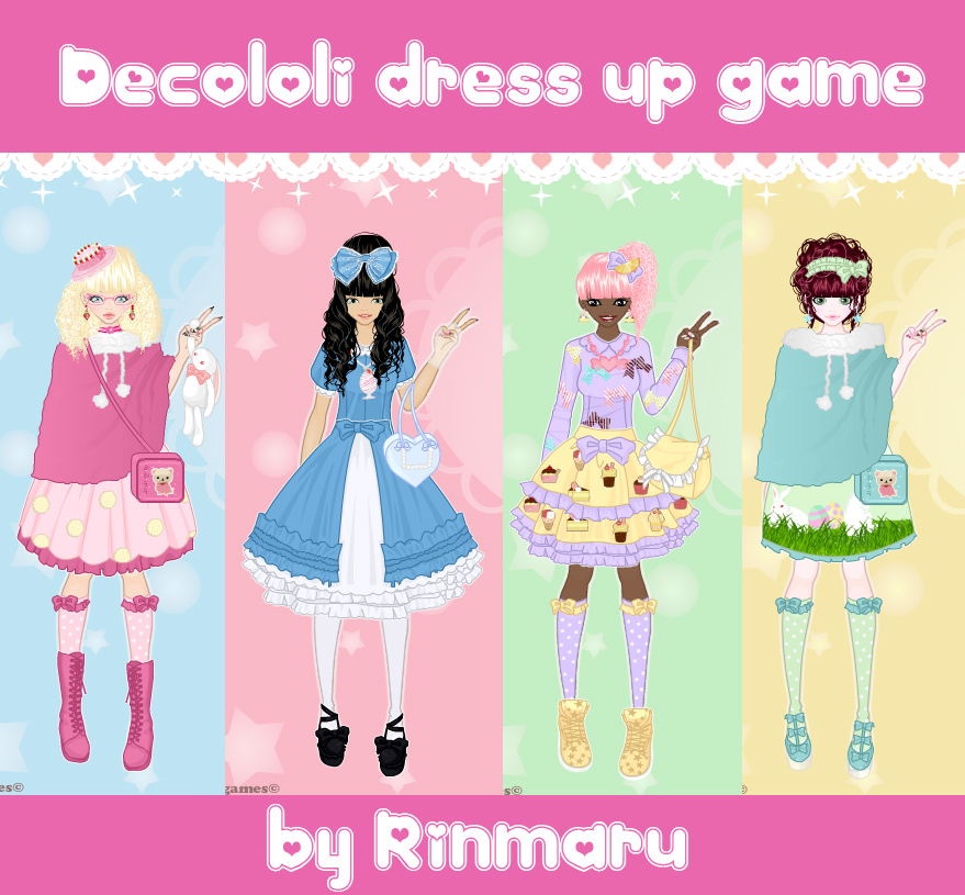 Decololi Dress Up Game By Rinmaru On DeviantArt