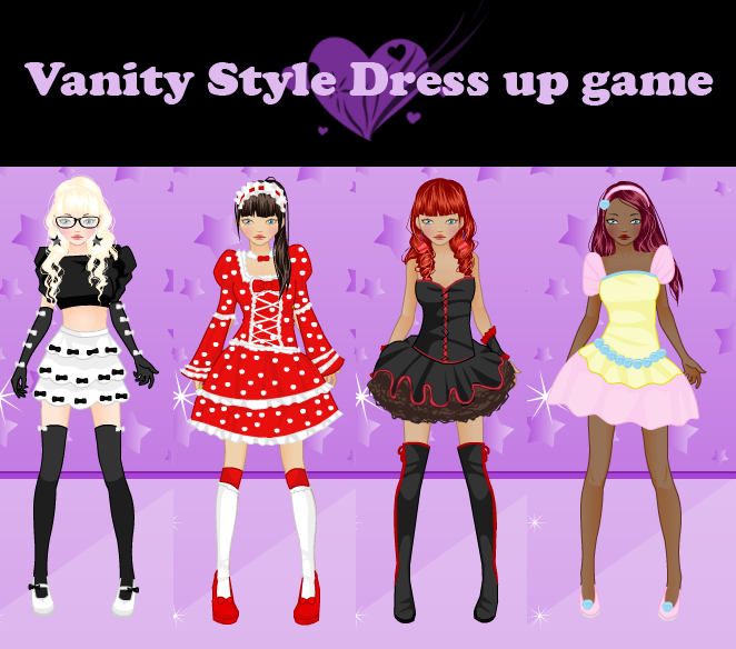 Vanity Style Dress Up Game By Rinmaru On DeviantArt