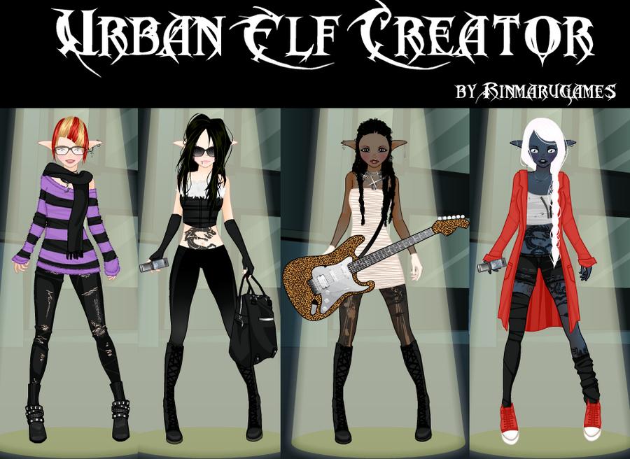 Urban Elf Dress up game by Rinmaru