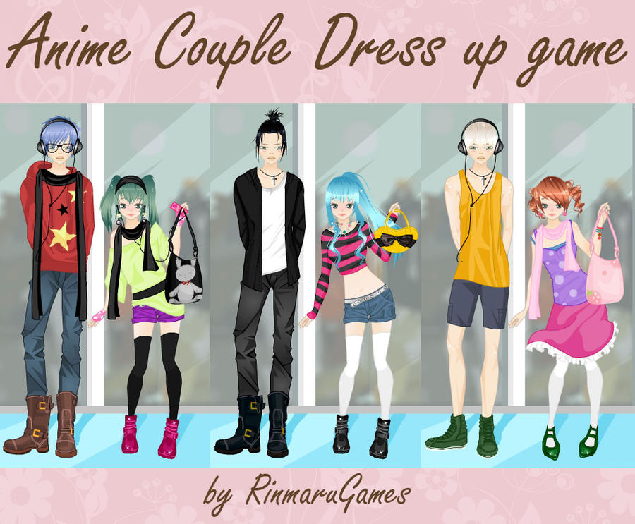 anime dress up games couples