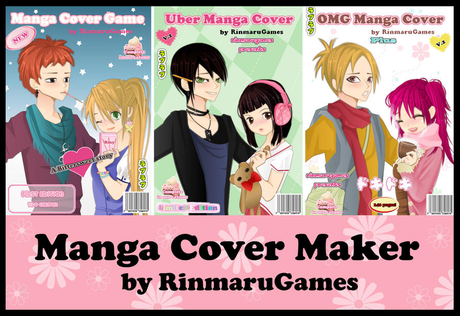 Manga Cover Maker By Rinmaru