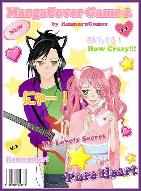 Manga Cover Creator V.2 by Rinmaru