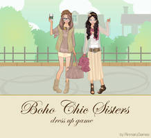 Boho Chic Sisters dressup game by Rinmaru