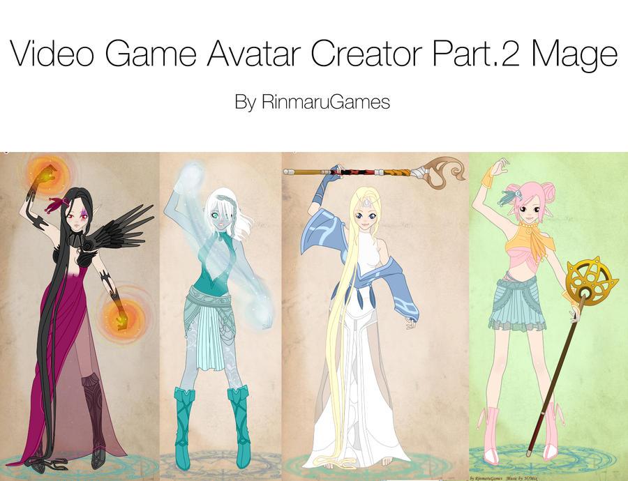 Video Game Avatar Creator V.2 by Rinmaru