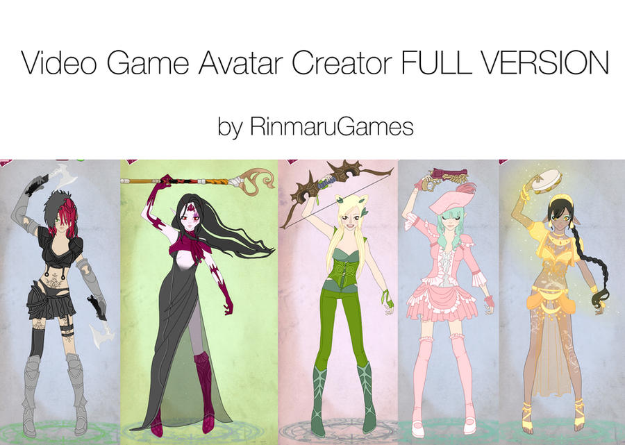 Video Game Avatar Creator FULL by Rinmaru