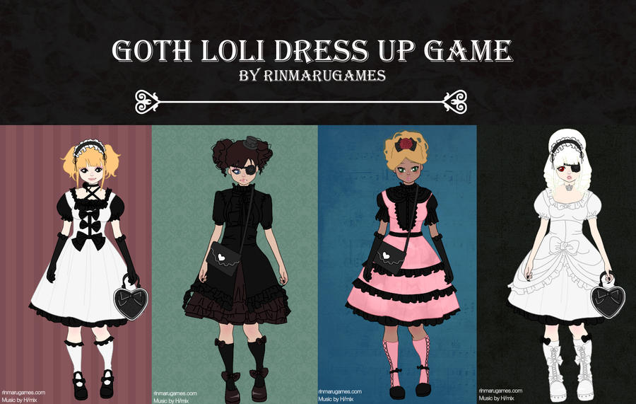 Gothloli dress up game by Rinmaru