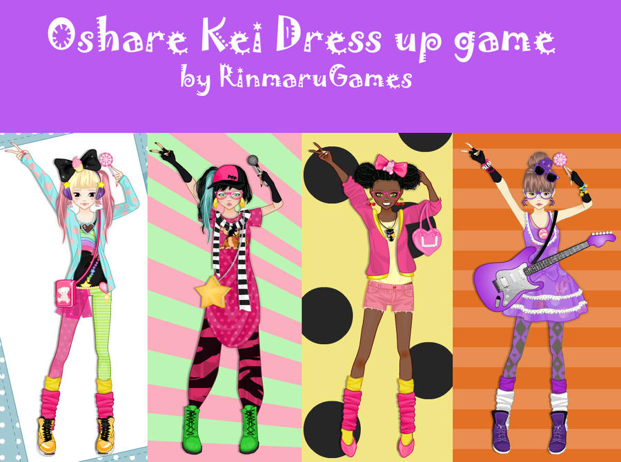 Oshare Kei dress up game by Rinmaru