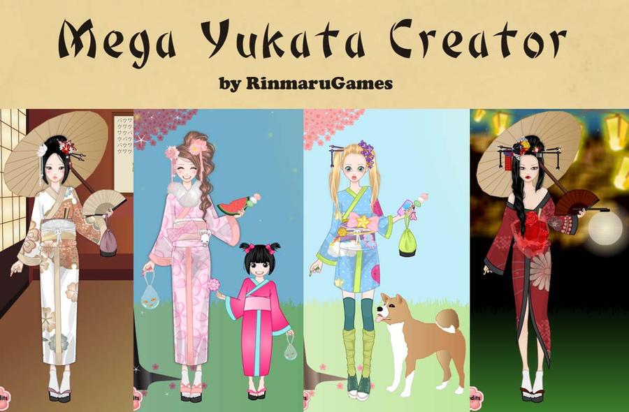 Mega Yukata Creator by Rinmaru