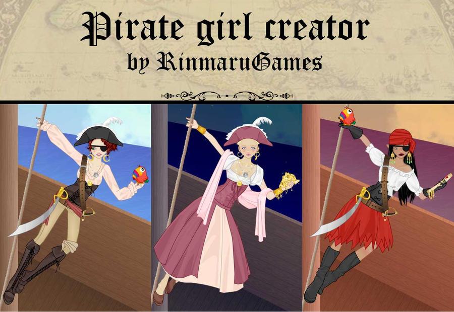 Pirate girl creator game by Rinmaru
