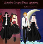 Vampire Couple dress up game