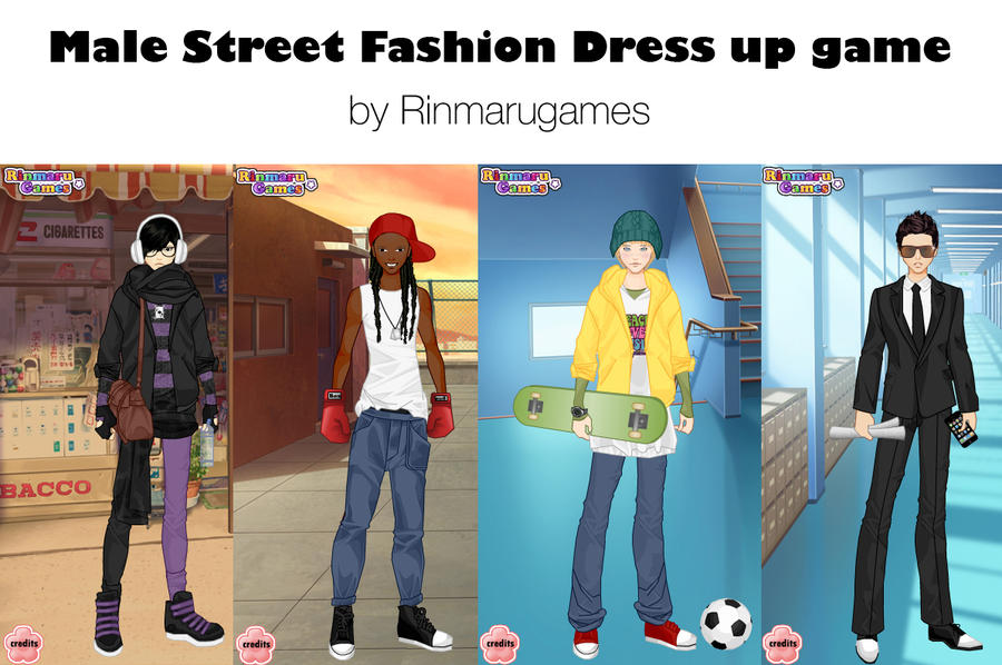 Male Street fashion dressUp by Rinmaru