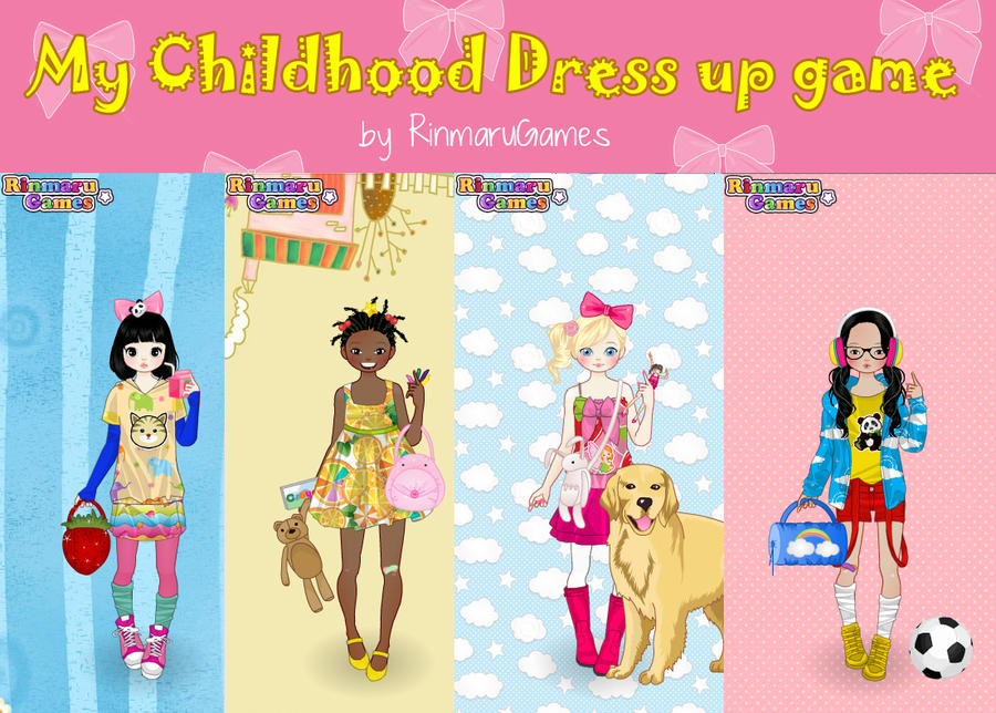 My Childhood Dress Up Game By Rinmaru On DeviantArt