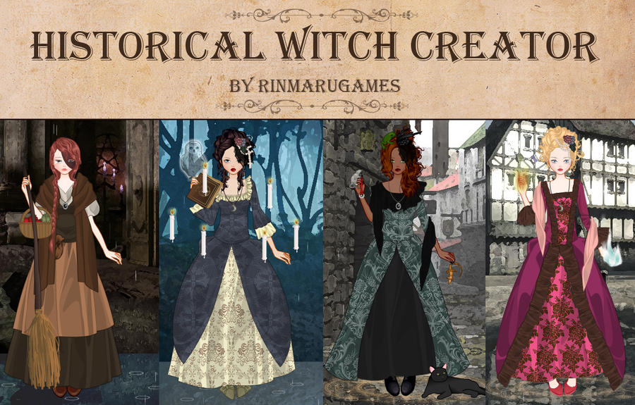 Historical witch creator by rinmaru on deviantart for Anime wedding dress up games
