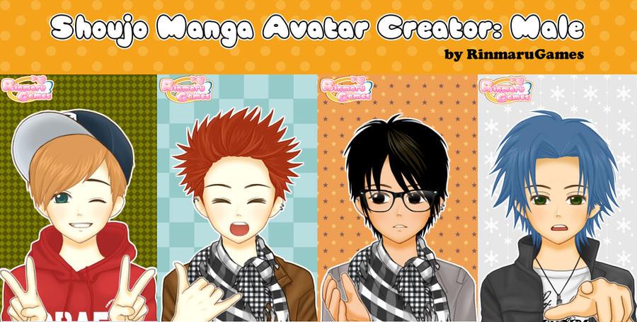 Shoujo Manga Avatar Creator:Male by Rinmaru on DeviantArt