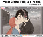 Manga creator page.11(The End)