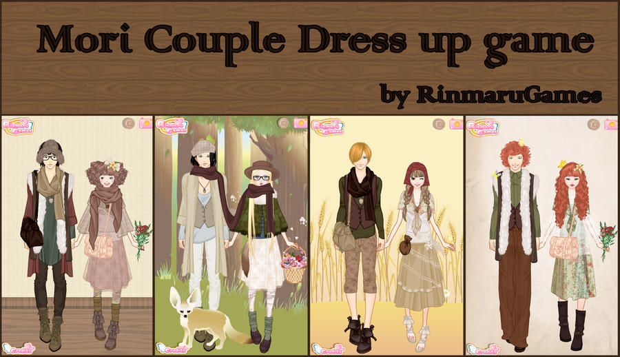 Mori couple dress up game by rinmaru on deviantart for Wedding dress up games for girls and boys
