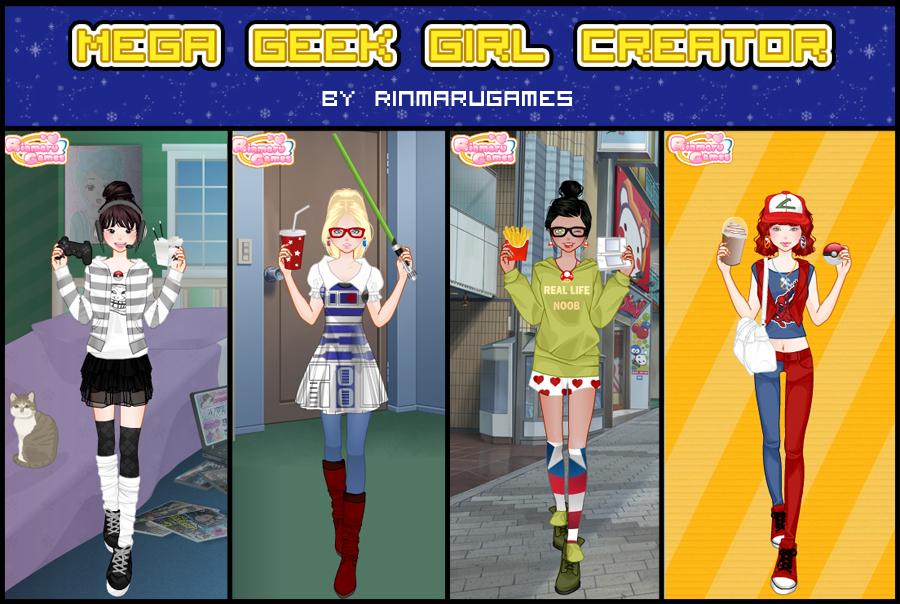 Anime Geek Girl Dress Up
