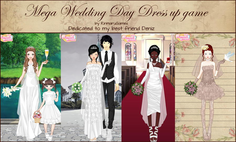 Mega wedding day dress up game by Rinmaru
