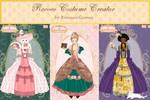 Rococo costume creator