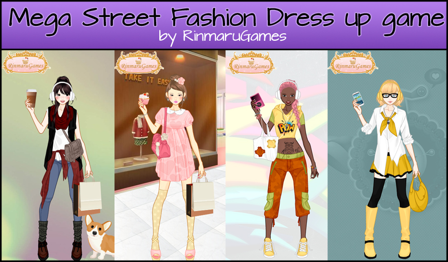 Mega Street fashion dress up game V.3 by Rinmaru