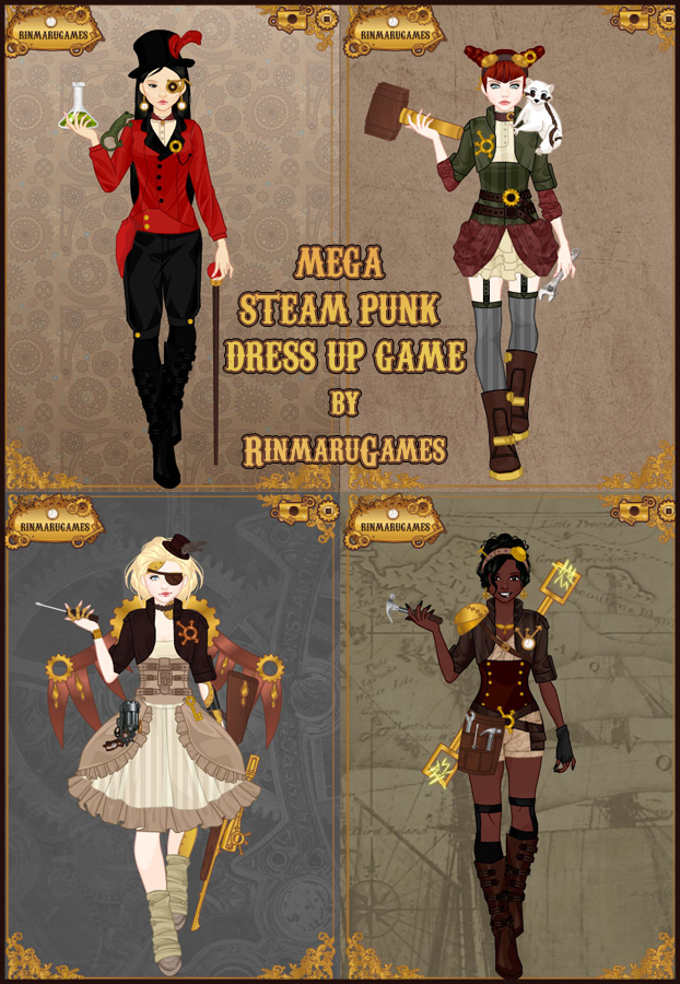 Punk style dress up games