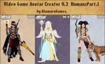 Video Game Avatar Creator Human:Part.1