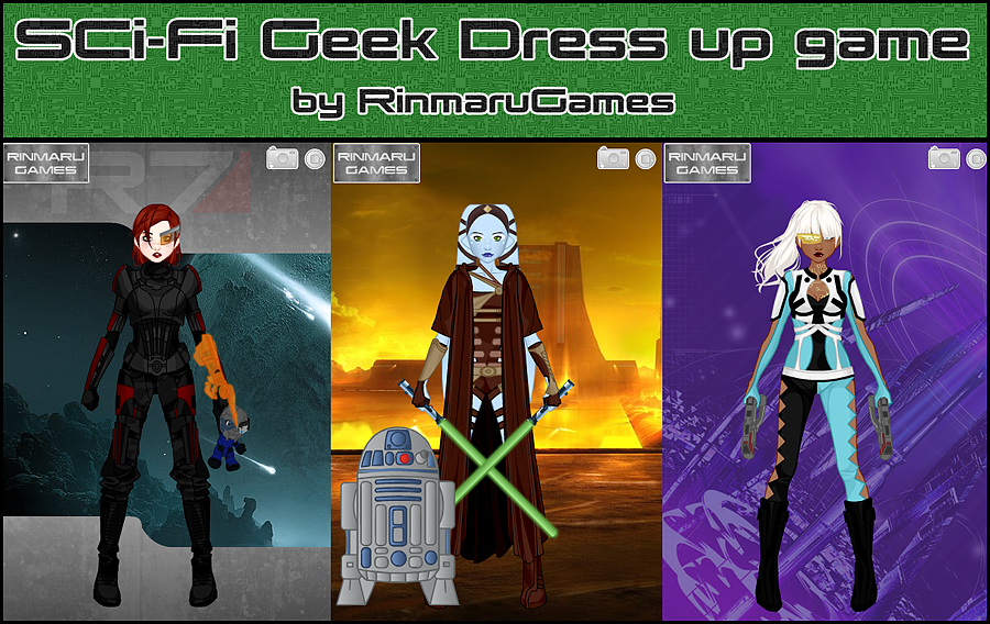 Sci-Fi Geek dress up game by Rinmaru