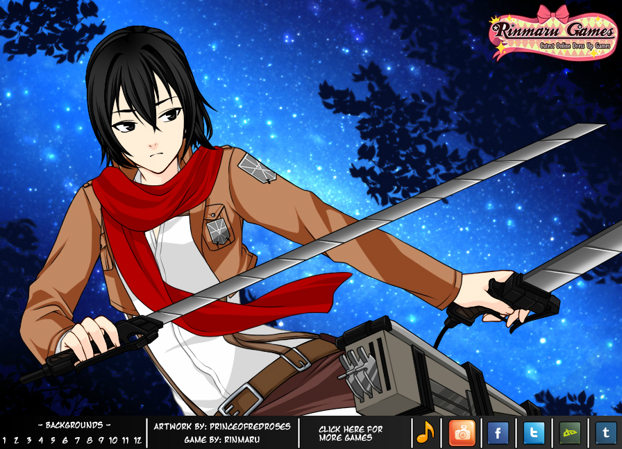 SNK cosplayer dress up game by Rinmaru. SNK cosplayer dress up game by Rinmaru on DeviantArt