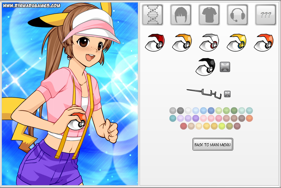 Character Design Dress Up Game : Pokemon cosplayer dress up game by rinmaru on deviantart