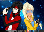 Anime partners dress up game