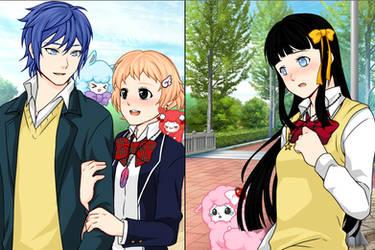 Manga Creator School Days Page:13