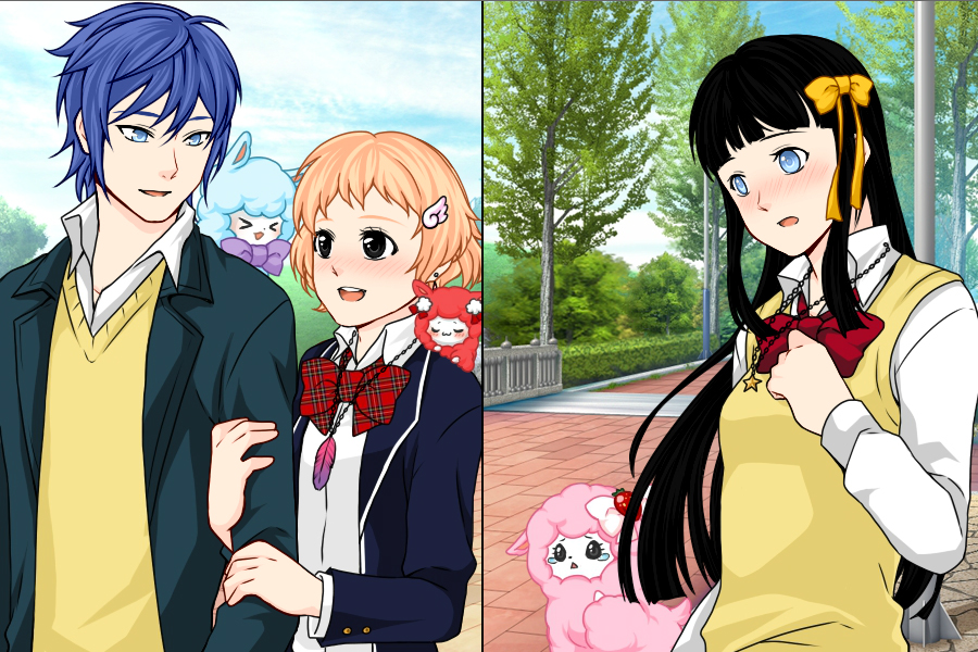 Manga Creator School Days Page:13 by Rinmaru