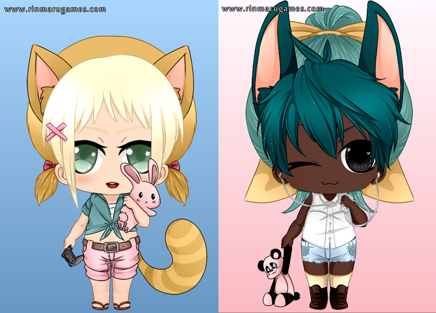 Kemono-chibi dress up game by Rinmaru on DeviantArt Gaara Chibi Wallpaper