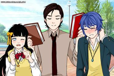 Manga Creator School Days page:17