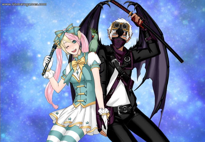 Mega anime couple creator by Rinmaru