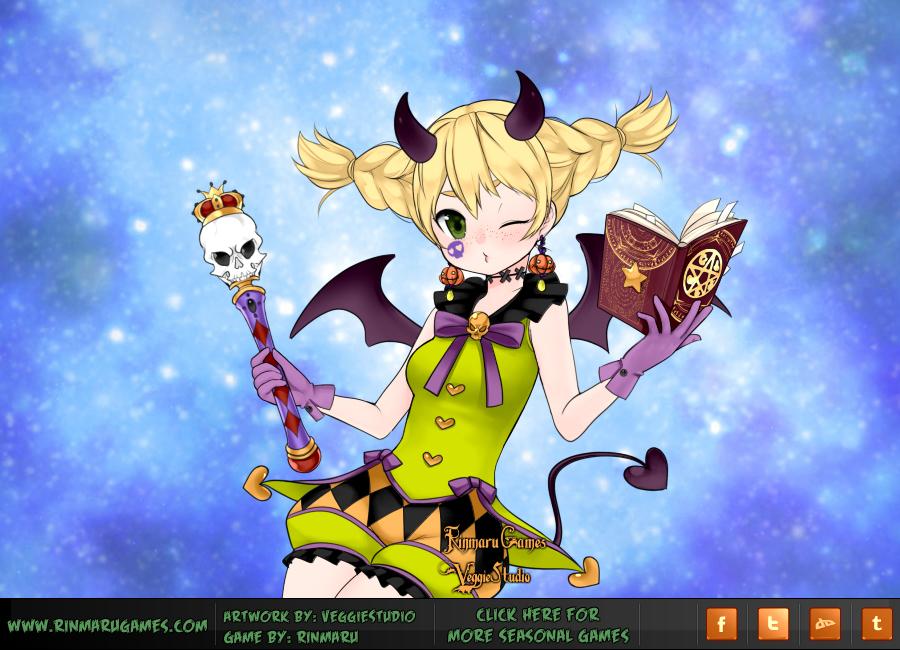 Anime Halloween Magical girl by Rinmaru. Anime Halloween Magical girl by Rinmaru on DeviantArt