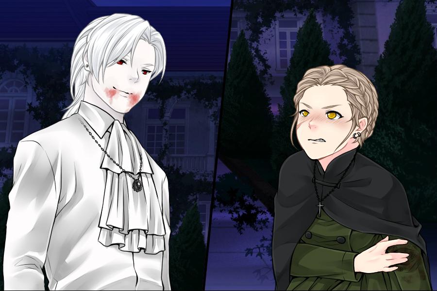 Manga Creator: Vampire Hunter page.5 by Rinmaru
