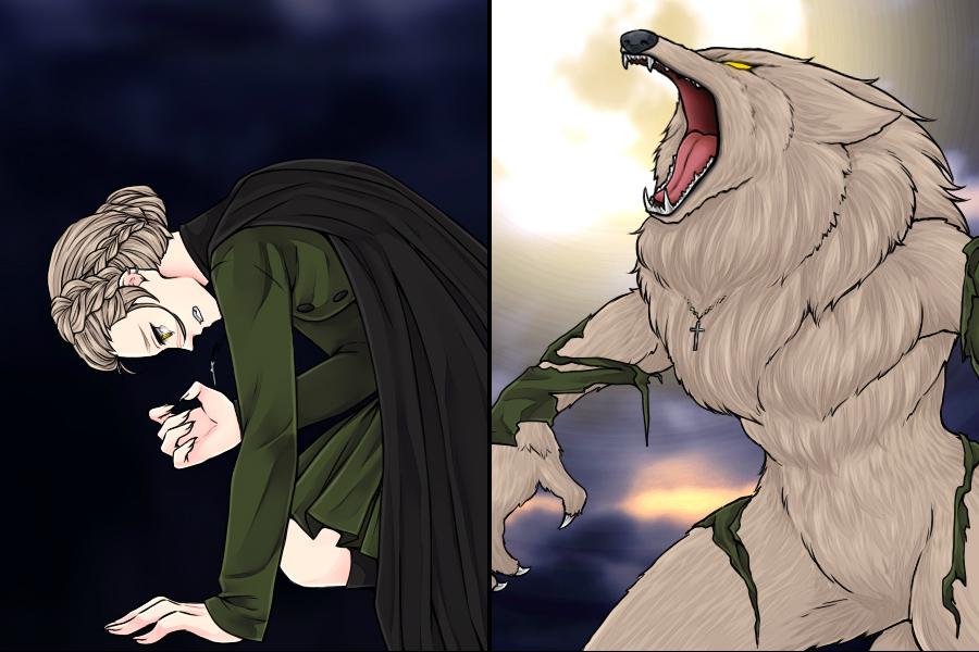 Manga Creator: Vampire Hunter page.11 by Rinmaru