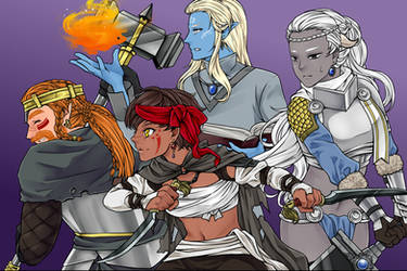 Manga Creator: World of Fantasy Special 1 by Rinmaru