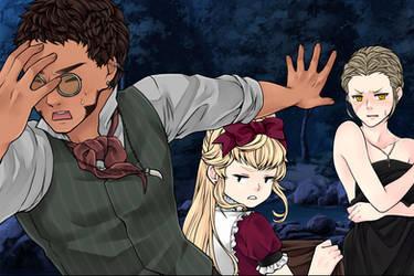Manga Creator: Vampire Hunter page.12 by Rinmaru