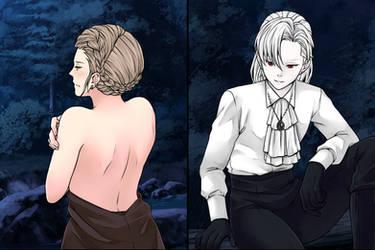 Manga Creator: Vampire Hunter page.13 by Rinmaru