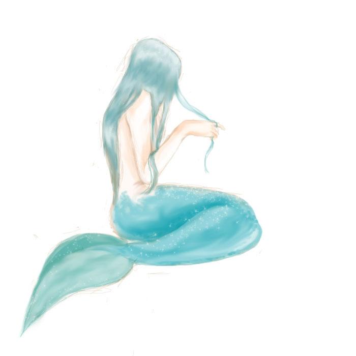 ~Under the Sea~ Mermaid_by_Rinmaru