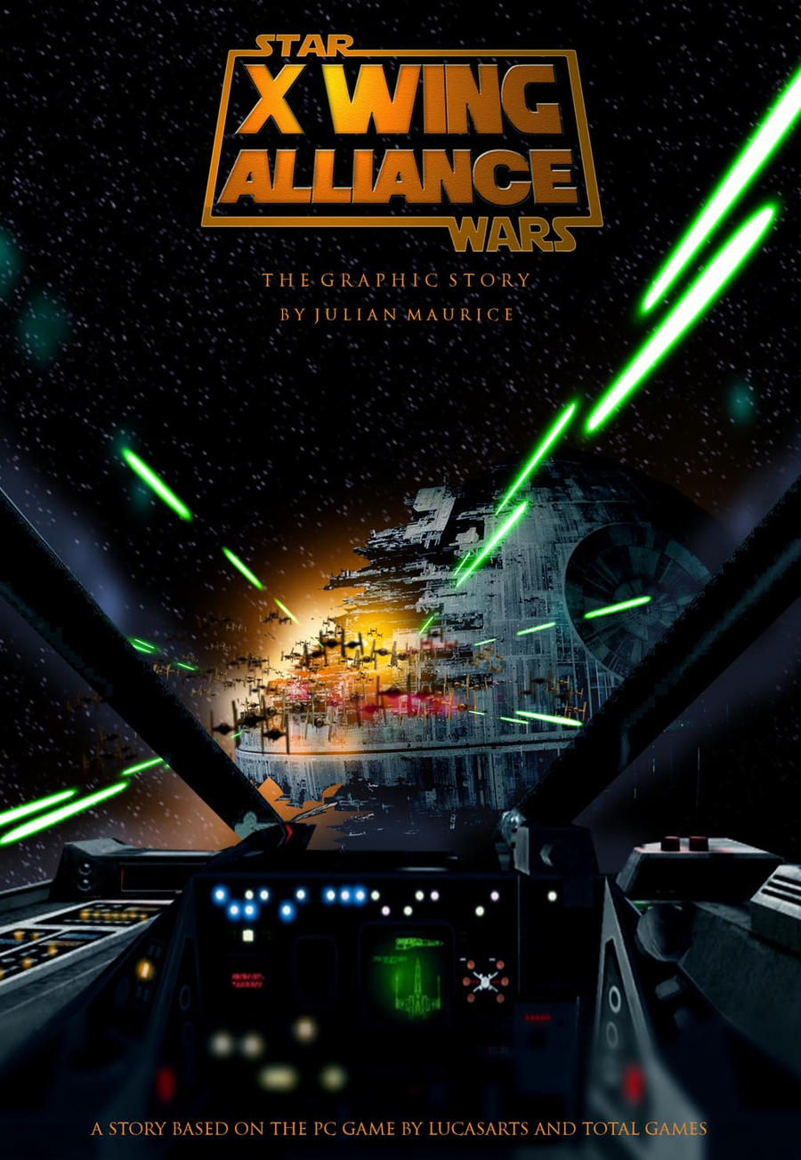 Wing Alliance Cover Art by hangarbay94X Wing Alliance