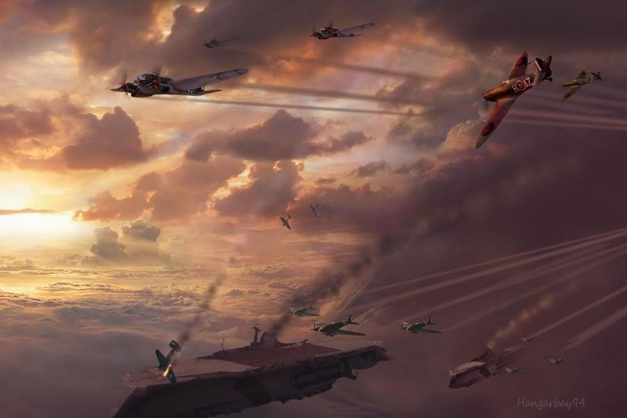 Steampunk Airships Battle Steampunk Battle of Britain